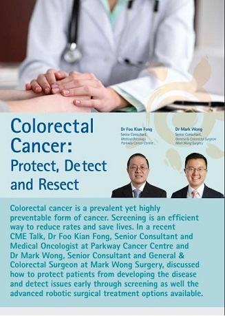 Colorectal Cancer: Protect, Detect and Resect